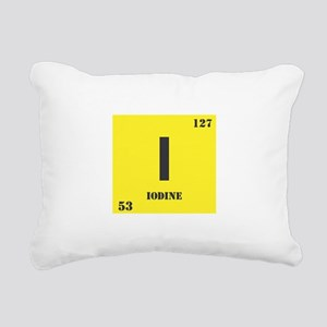 Iodine Rectangular Canvas Pillow